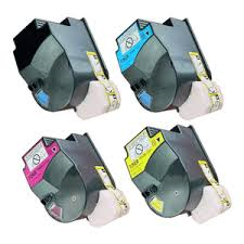 Konica Minolta 8937905 Black, 8937908 Cyan, 8937907 Magenta, 8937906 Yellow TN621 Compatible Toner Cartridge