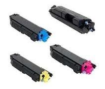 Kyocera Mita 1T02NR0US0 TK5142K Black, 1T02NRCUS0 TK5142C Cyan, 1T02NRBUS0 TK5142M Magenta, 1T02NRAUS0 TK5142Y Yellow TK5142 Compatible Toner Cartridge