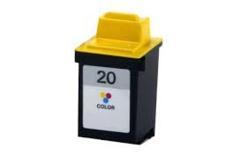 Lexmark 20 15M0120 Tri-Color, 25 15M0125 Tri-Color, 90 12A1990 Photo Color Compatible Inkjet Cartridge