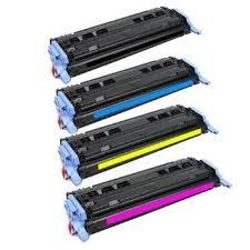 HP Q6000A (124A) Black, Q6001A Cyan, Q6002A Yellow, Q6003A Magenta Compatible Toner Cartridge