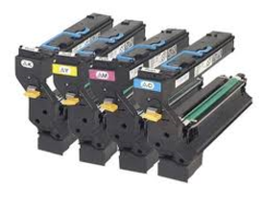 Konica Minolta 1710580-001 Black, 1710580-004 Cyan, 1710580-003 Magenta, 1710580-002 Yellow Compatible Toner Cartridge