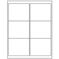 "Avery 5164 3.3"" x 4"" Compatible Alternative Easy Peel Address labels, 6 Labels Per Sheet. 100 Sheets Per Pack. 600 Labels"