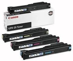 Canon 1069B001AA GPR20BK Black 1068B001AA GPR20C Cyan 1067B001AA GPR20M Magenta 1066B001AA GPR20Y Yellow Genuine Toner Cartridge