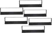 Tally Genicom 060097 062471 Black Compatible Ribbon - 6 Pack