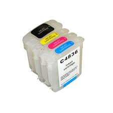 HP 11 C4810A Black C4811A Cyan C4812A Magenta C4813A Yellow Compatible Printhead Inkjet Cartridge. HP 10 C4844A Black C4836A Cyan C4837A Magenta C4838A 11 Yellow Compatible Inkjet Cartridge