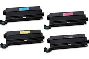 Lexmark 12N0771 Black 12N0772 Cyan 12N0769 Magenta 12N0770 Yellow Compatible Toner Cartridge