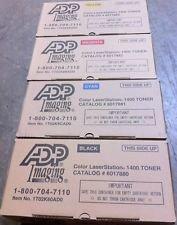 ADP 6017880 Black 6017881 Cyan 6017882 Magenta 6017883 Yellow Genuine Toner Cartridge
