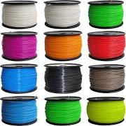 ABS Filament 3mm 3D Printing Filament -- Select Colors:
