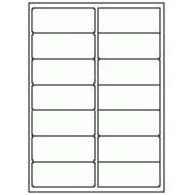 "Avery 5162 1.3"" x 4"" Compatible Alternative Easy Peel Address labels, 14 Labels Per Sheet. 100 Sheets Per Pack"