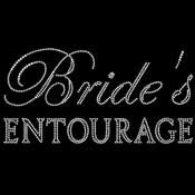 Rhinestone Bride's Entourage