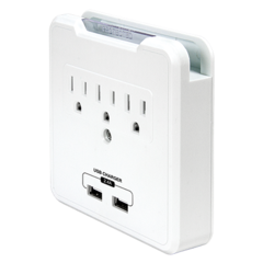 purePower CHARGE Outlet & USB Surge Protection