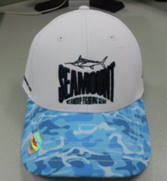 Seamount Hat. Water Camo Bill.