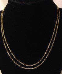 1013. Golden Link Chain Necklace