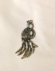1255. Tibetan Style Pheasant Pendant