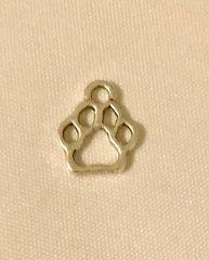 1740. Small Paw Print Pendant