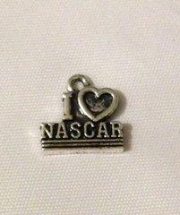 1209. I Love NASCAR Pendant
