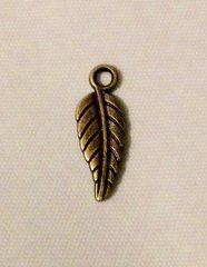 1161. Bronze Leaf Pendant