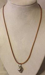1004. Waxed Cotton Necklace