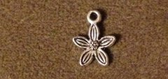 715. 5 Petal Flower Pendant