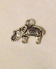1455. Ornate Elephant Pendant