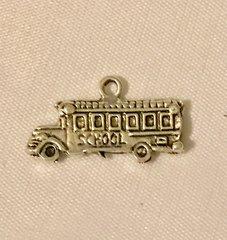 1641. School Bus Pendant