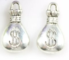 774. 3D Money Bag Pendant