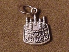 814. Birthday Cake Pendant