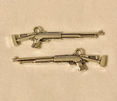 1766. Gun Pendant