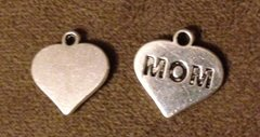 475. MOM Heart Pendant