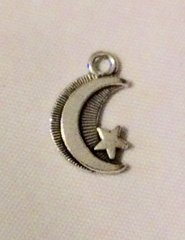 986. Moon with Star Pendant
