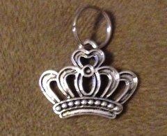 631. Silver Royal Crown Pendant