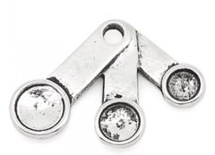 124. Measure Spoons Pendant