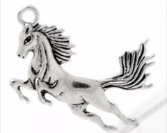 593. Large Running Horse Pendant