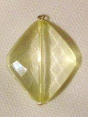 1605. November Birthstone Topaz Pendant