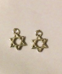 1545. Star of David Pendant