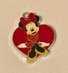 1780. Minnie Heart Pendant