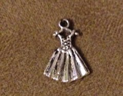 637. Dress on Hanger Pendant