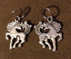 604. Large Fancy Horse Pendant