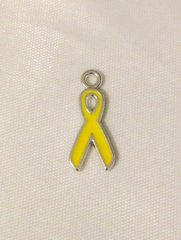 1278. Yellow Ribbon Pendant