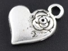 490. Heart with Flower Pendant