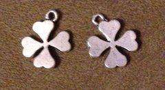 698. Solid Four Leaf Clover Pendant