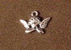 796. Angel on Elbows Pendant