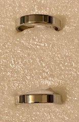1677. Stainless Steel Plain Ring