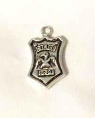 1418. Police Dept Badge Pendant