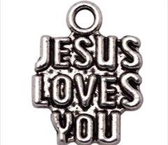 297. 'Jesus Loves You' Pendant