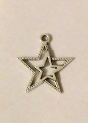 612. Double Star Pendant