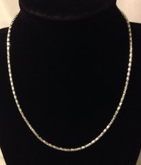 1012. Silver Snake Chain Necklace