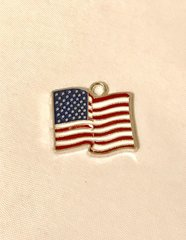 1728. USA Flag Pendant