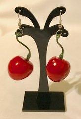 1686. Cherry Dangle Earrings