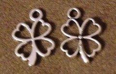 697. Hollow Four Leaf Clover Pendant